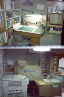 廃業後、自宅に設けた事務所